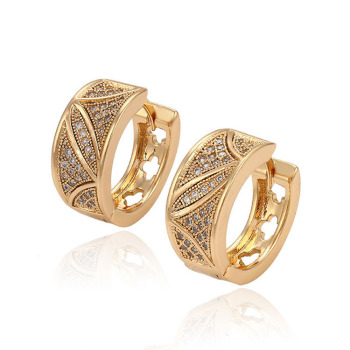 29758 xuping 2016 Wholesale fashion high quality 18k gold color earring