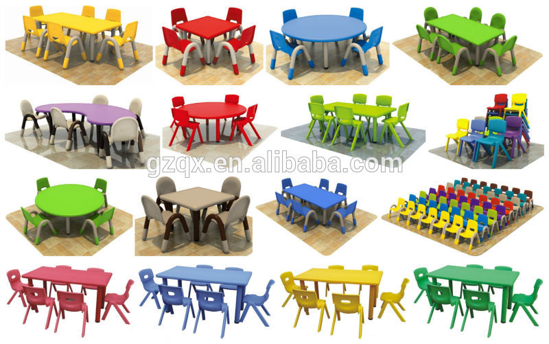 Early Age Plastic Toddler Table And Chairs Kids Chair