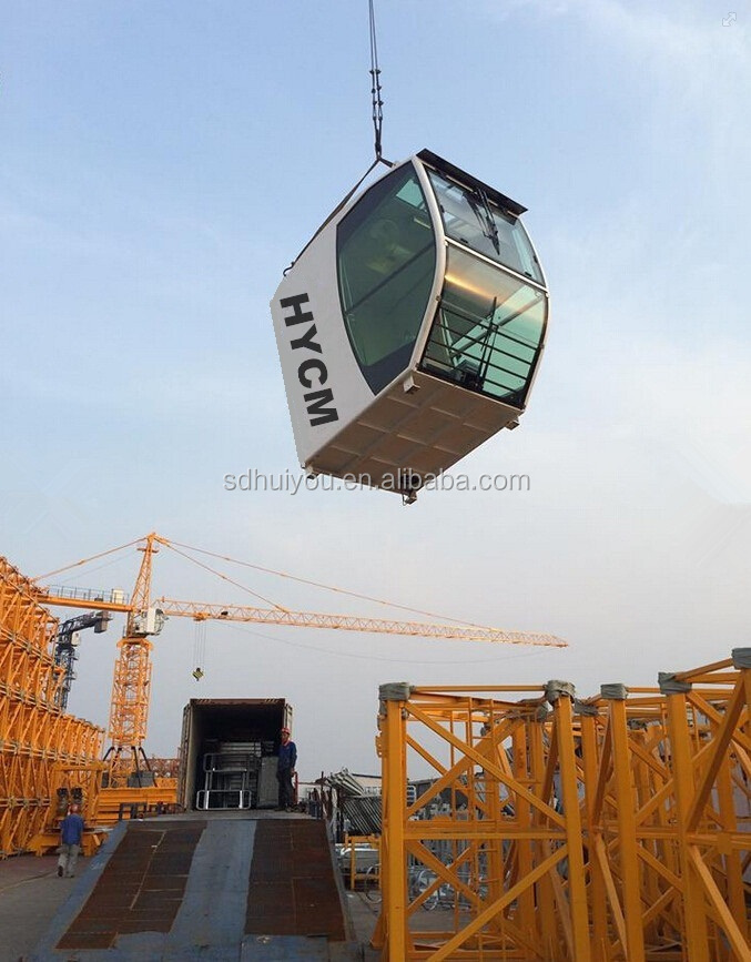 grua torre tower crane topkit hydraulic crane QTZ63(TC5610) 5 tons 6 tons 5t 6t in Brail and middle east and Dubai Iran