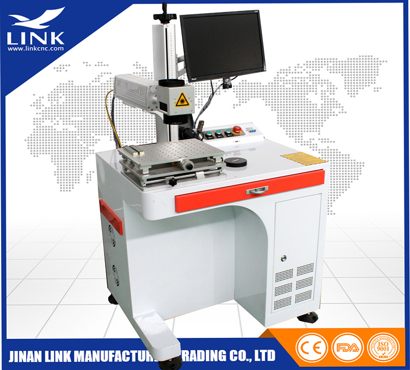 Low price laser marker 20W 30W 50W cnc yag 3d fiber laser marking machine for metal