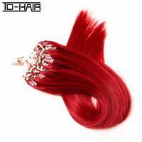 First sales 2016 high quality cheap indian hair 100% remy human hair easy loops micro ring hair extension