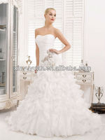 Maternity Layered A-line Sweetheart Organza Wedding Dress Bridal Gowns XYY-k42-13