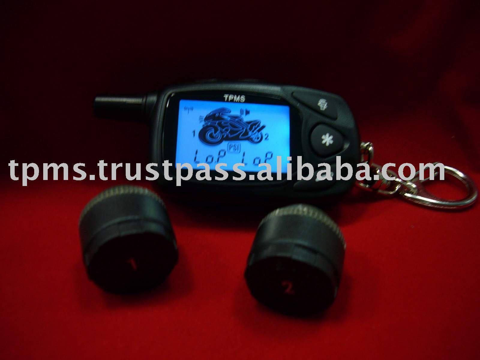 New Motorcycle tire pressure monitoring system + Tire Pressure Messure System
