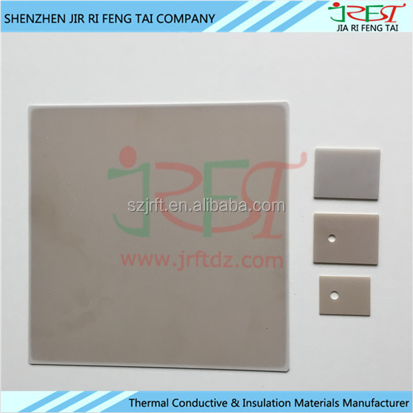 High Thermal Conductivity Aluminium Nitride Tube/AlN Ceramic Substrate for Electronic Device