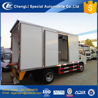 CLW PU foam made insulation box 5 ton freezer car reefer van cargo truck for sale