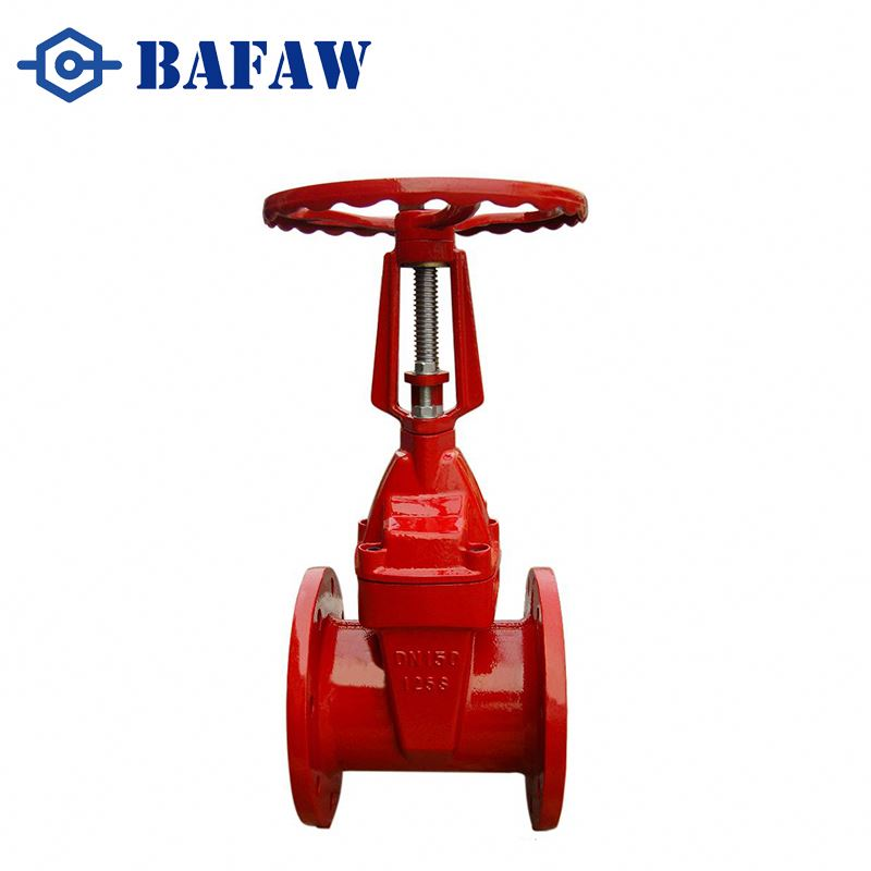 Strict quality control fire fighting Rising stem sluice gate valve drawing