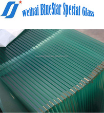 8mm tempering clear float glass