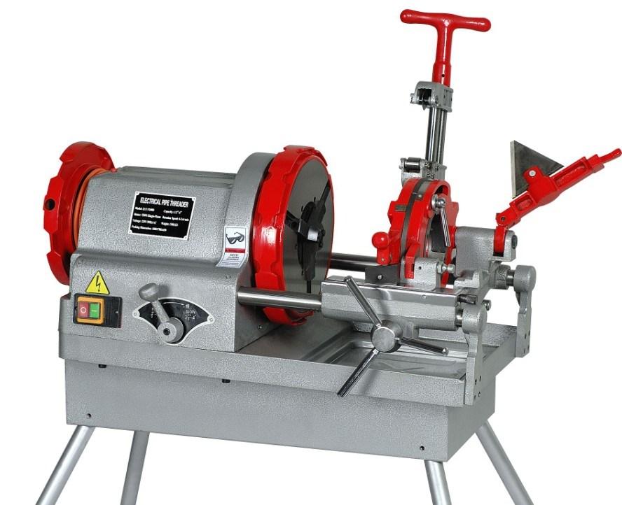 Automatic Pipe Cutting Machine ~ Sq f automatic pipe thread cutting machine buy electric