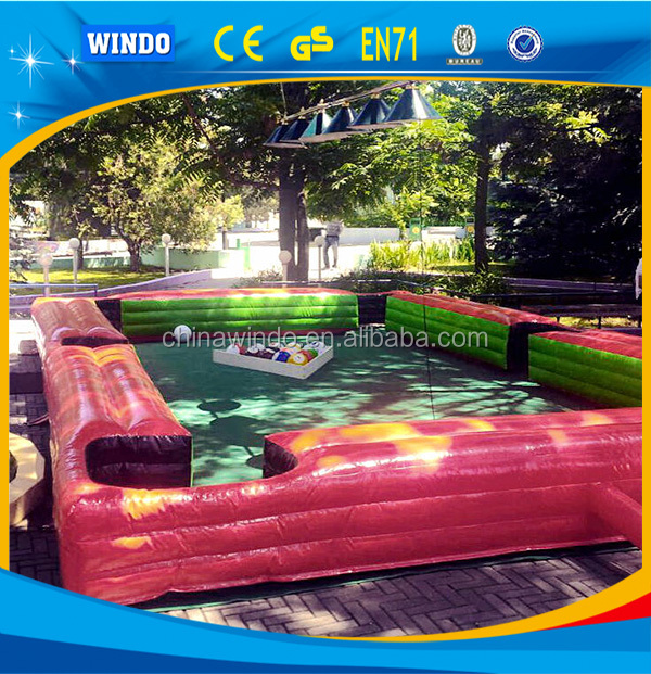 inflatable foot pool inflatable billard <strong>football</strong>