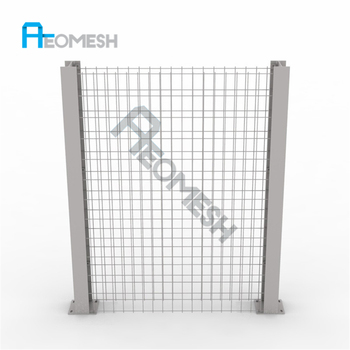 High quality AEO Aluminum Protection Residential portable garden fence/pvc coated gabion box/gabion stone cost