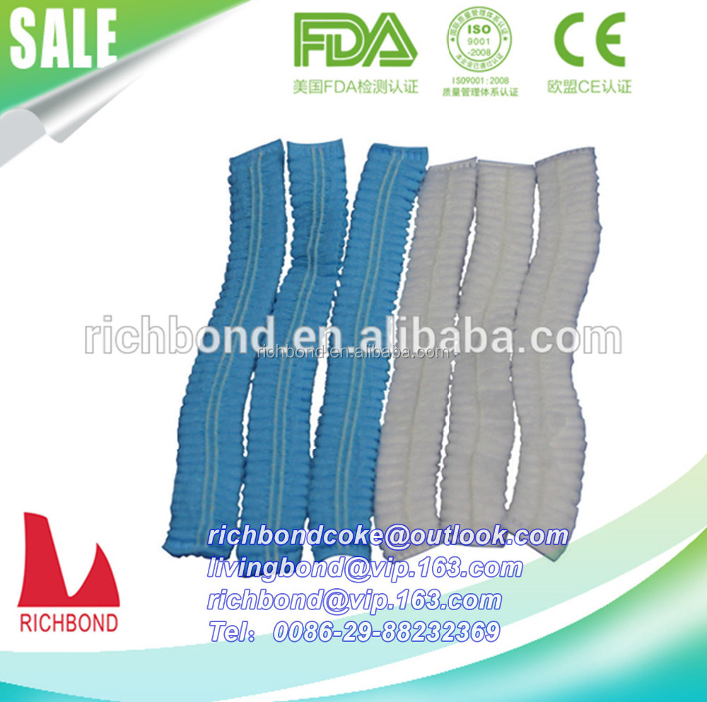 Nonwoven disposable surgical hat/cap/ doctor sugical bouffant clip