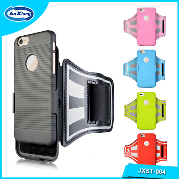 New Products Elastic Reflective Sport Armband Case for iPhone 6 Plus