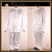 Fashionable hotsell wholesale polyester pajama clothes satin