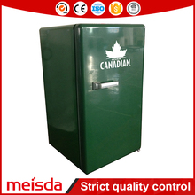 52L Small Solid Door Customized Color Cold Drink Commercial Beverage Under Counter Refrigerator