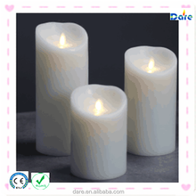 Battery operated flameless cordless window candle