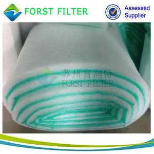 Forst Zhangjiagang Spray Booth Rolls Fiber Glass Floor Filtration