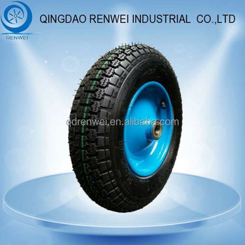 "14 inch Pneumatic Tyre for Wagons 14""* 3.50-8 Rubber Wheel with Pneumatic Tyre"