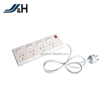 10A 250V 4-outlet power strip surge protector