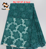 New popular style embroidery lace heavy french lace of NL10137