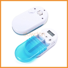Digital Pill Box Timer With Electric Alarm Medicine Pill Case pill box timer