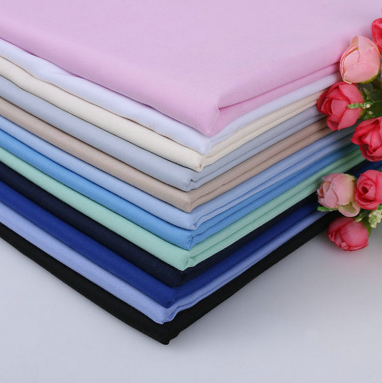 China supplier textile factory 100% Polyester fabric for Uniform & Arab robe