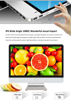Hotselling!! Ultra thin 23.6 inch all in one PC/AIO PC with intel pentium/celeron/i3/i5/i7