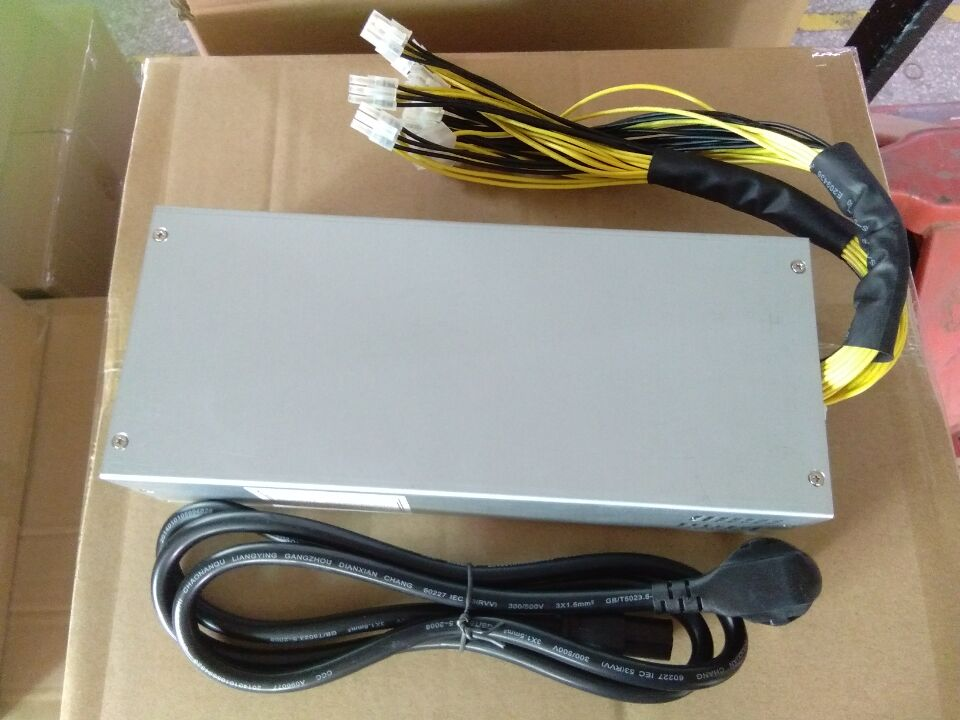 2017 NEW 1600W Platinum MINER SWITCHING POWER SUPPLY for ANTMINER S9 L3+