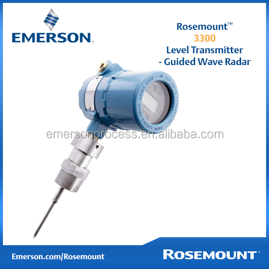 Emerson Rosemount 3300 Guided Wave Radar Level transmitter
