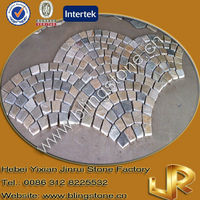 Fan-shaped Slate Paver Cheap Natural Stepping Stones