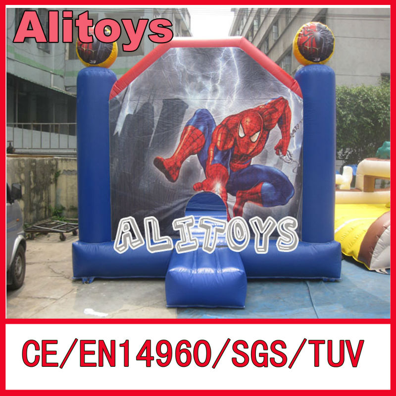 Cute inflatable baby bouncer jumping toys