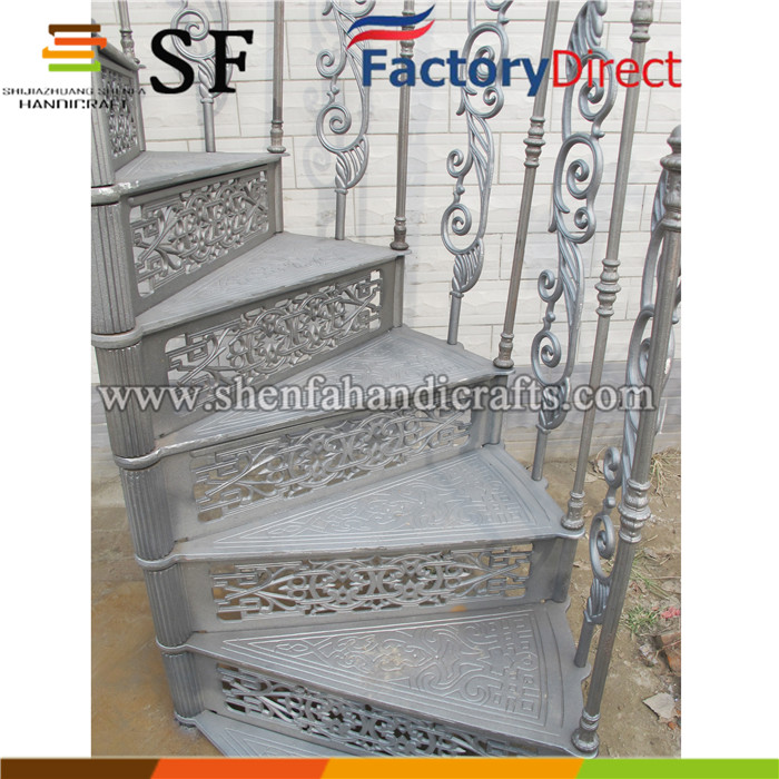 used spiral staircase design cast iron spiral stair for outside price