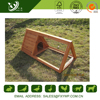Beautiful high quality secure large wooden luxury rabbit cage for outdoor use