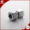 DIN2353 Tube Fittings Hydraulic Stainless Steel Single Ferrule Female Connector