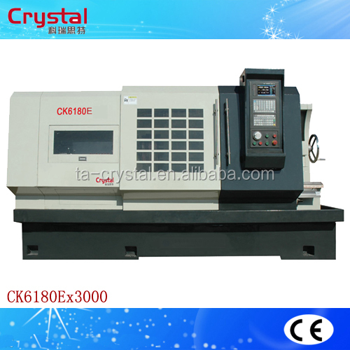 high speed spindle motor heavy duty cnc long bed turning lathe CK6180E
