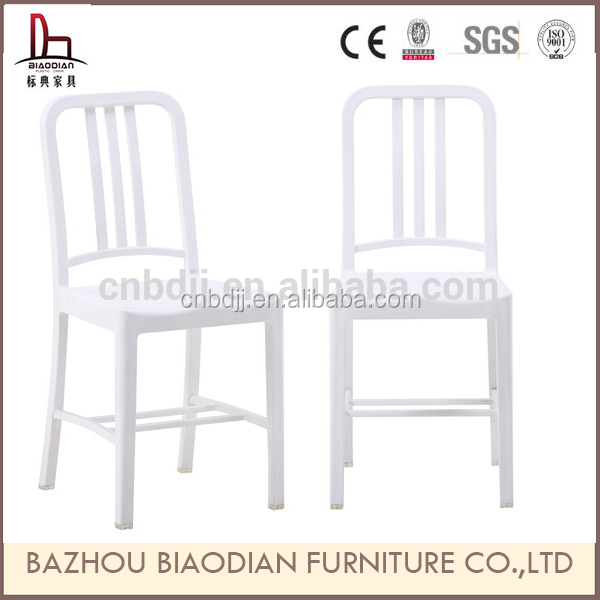 Sillas furniture acrylic dining room PP material white navy chair on promotion