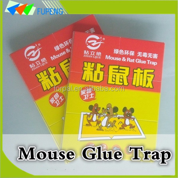 Fupeng Nontoxic Super Sticky Mouse Glue Trap to Kill Rats