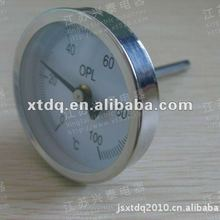 axial-type double metal thermometer