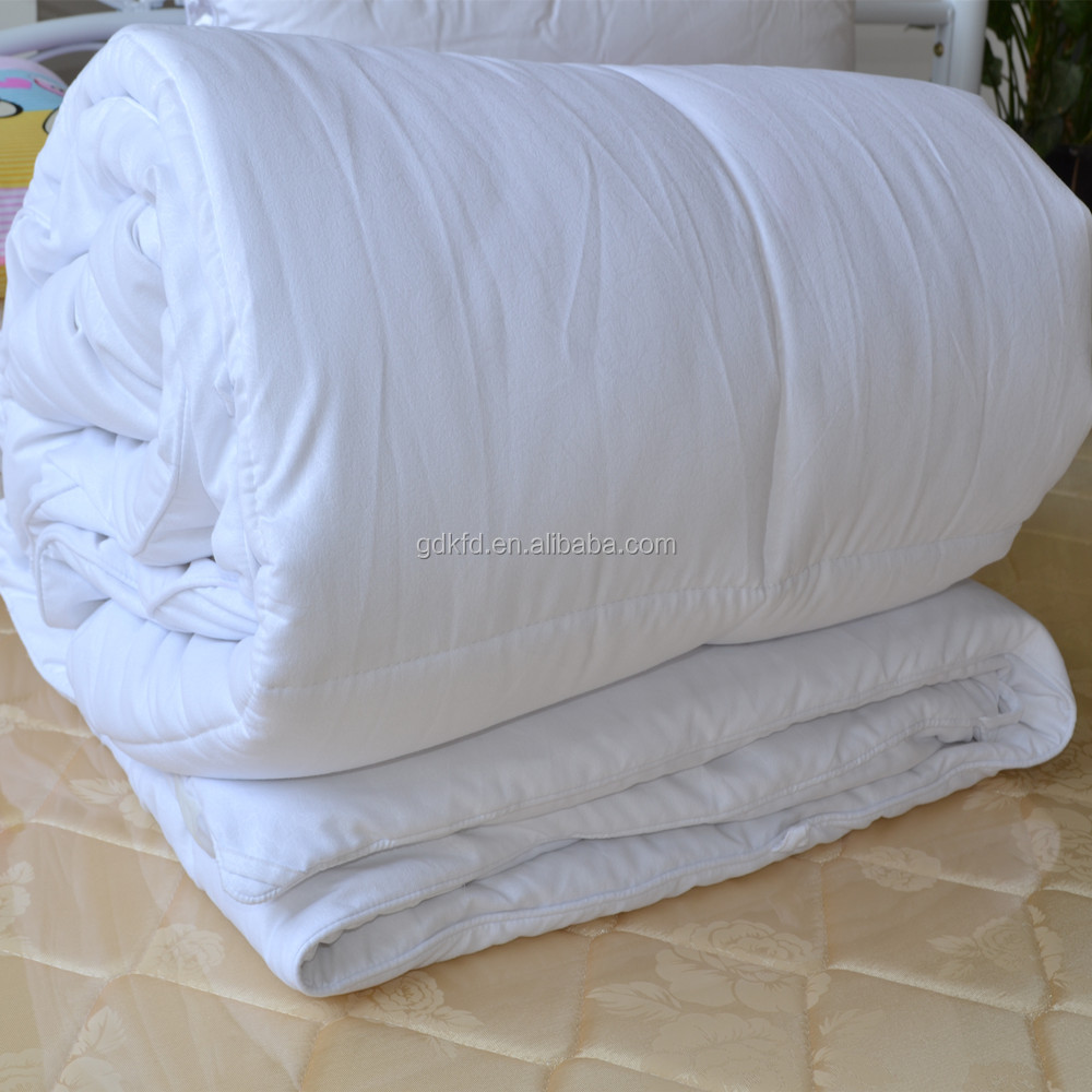 Microfiber filling quilt, hotel polyester quilt, durable hotel quilt