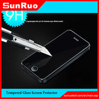 New product factory price 9H hardness 2.5d edge oleophobic coating anti-fingerprint tempered glass screen protector for iphone4s