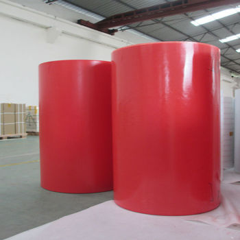 non woven fabric and mylar laminated insulation resin modified dmd