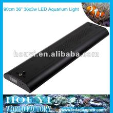 factory supply remarkable intelligent and automatic simulate sunrise,sunset and lunar cycle led fish tank lamp