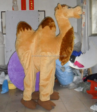 Life size walking mascot 2 person camel for party fit all adult 2 person camel mascot