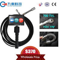 Sewer Pipe and Drain Pipe Snake Flexible Hand Held Inspection Camera