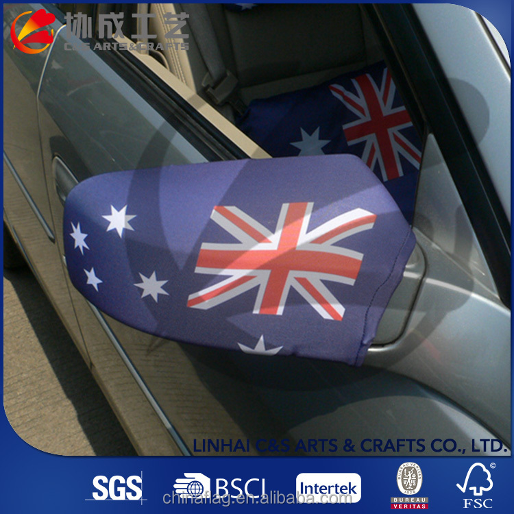 Custom Design Fabric Side Mirror Covers