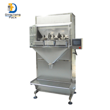 Semi - automatic medicine particles wolfberry granule food seed packaging machine
