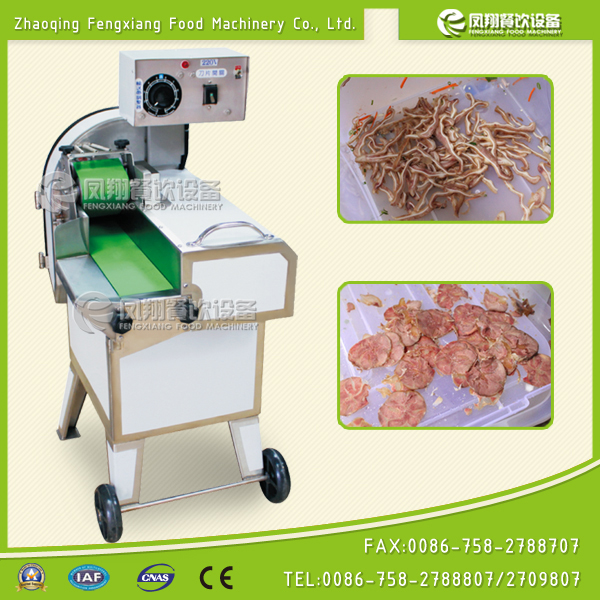 Cooked Meat Slicer Meat Pieces Cutting Machine Smoked Pork Cutter Bacon Cutter