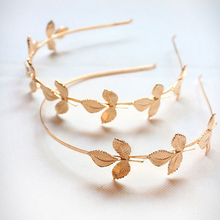 2015 New Product Metal Women Rose Gold Headband