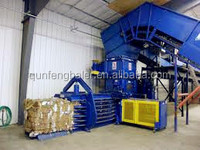 Scrap paper ,hay ,used clothes hydraulic baling machine