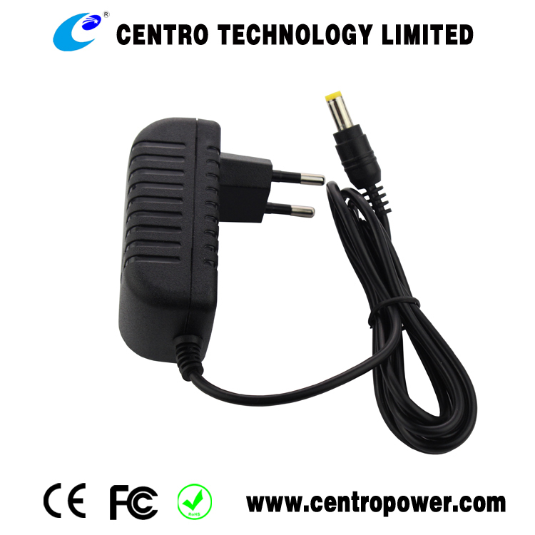 2016 new design universal EU plug CE,ROHS approved 10W 5v 2a AC DC wall mount Power adapter