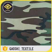 Exported Good Quality 600D Polyester Camouflage Printed Oxford Military Fabric With PVC Backing